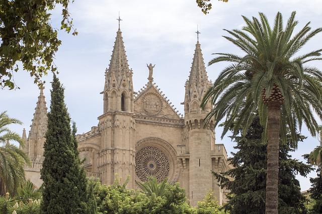katedrála na Mallorce