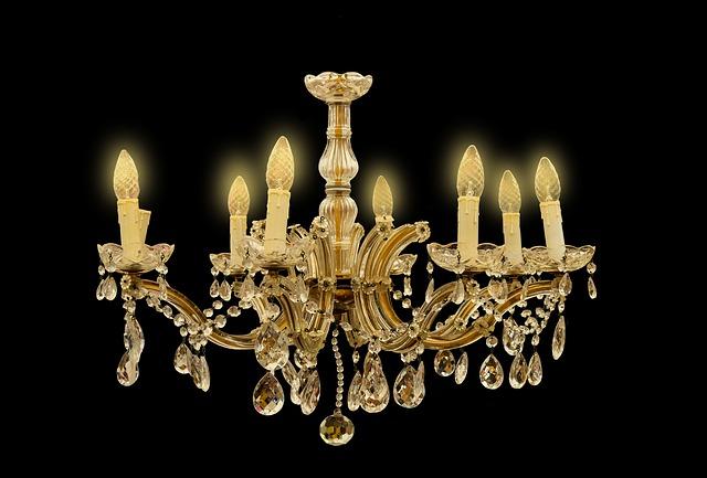 lustr jako svícen