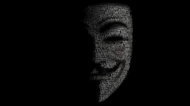 tvář hackera
