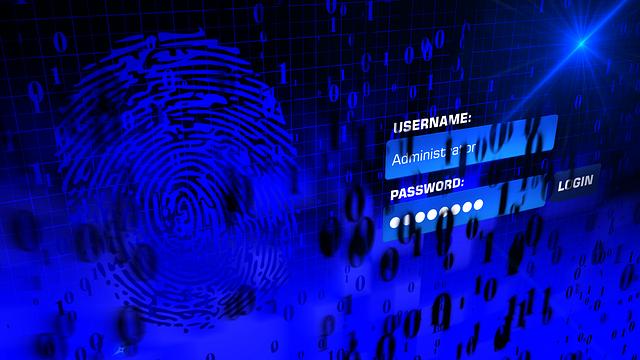 formulář s uživatelským jménem a heslem