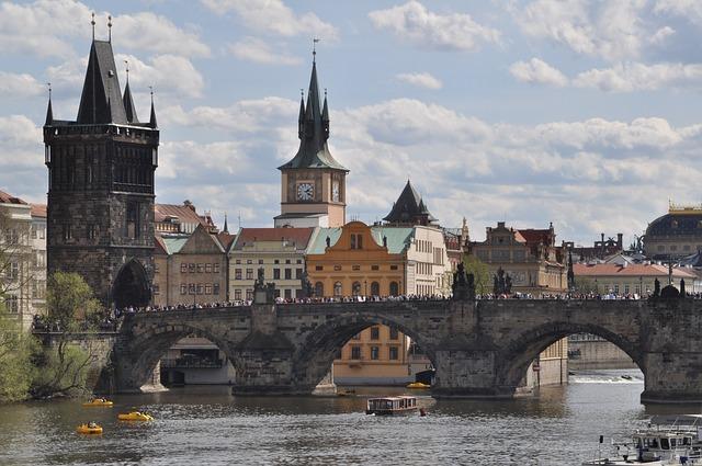 Slavný Karlův most